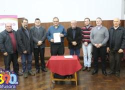Fecovinho e Sicredi firmam convênio em prol de associados das cooperativas vinícolas