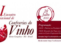 Giordani é a agência do I Encontro Nacional de Confrarias de Vinhos