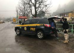 PRF prende passageiro de Uber com arma de fogo em Caxias