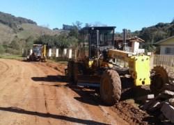 Iniciam obras de pavimentação na estrada da Linha 40 da Graciema no Vale dos Vinhedos