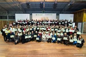 Foto com as entidades contempladas no Fundo Social_Crédito Maíla Fachini - Divulgação