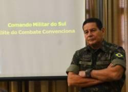 General Hamilton Mourão (PRTB) será o vice na chapa de Jair Bolsonaro
