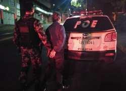 Homem é preso por tráfico de drogas no bairro Fenavinho em Bento