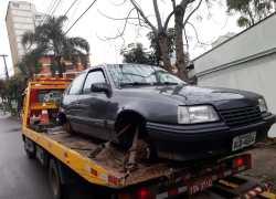 Localizado veículo furtado em Bento