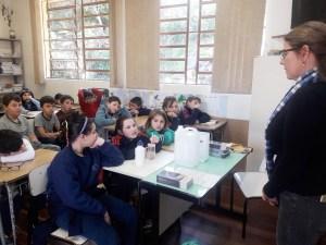 Escola Roman Ross, de Monte Belo do Sul, aderiu ao projeto Tribos nesse ano. Divulgação Prefeitura de Monte Belo do Sul