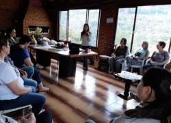 Interior de Bento recebe palestra sobre cuidados com a alimentação
