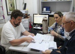 Municípios de Paraí e Carlos Barbosa visitam Serviço de Inspeção Municipal (SIM) de Bento