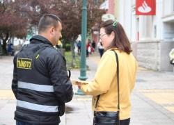 Conscientização para um trânsito mais seguro ocorre na Via Del Vino em Bento