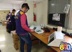 8ª Zona Eleitoral de Bento inicia preparação das urnas eletrônicas para votação