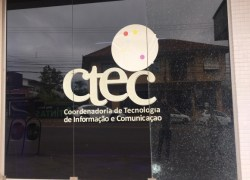 Fachada da CTEC é alvo de vandalismo em Bento