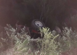 Agricultor morre em acidente com trator em São Roque Figueira de Mello, interior de Garibaldi