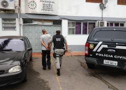 Brigada Militar prende homem com mandado de prisão em aberto em Garibaldi