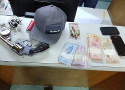PATRES prende homem por posse ilegal de arma nos Eucaliptos em Bento