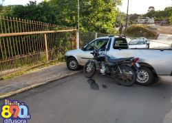 Jovens ficam feridos após acidente de trânsito em Tamandaré em Garibaldi