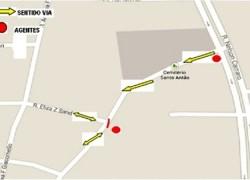 Finados: trânsito é alterado nas imediações dos cemitérios em Bento