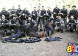 Identificados integrantes de quadrilha presa que atacou bancos em Coronel Pilar