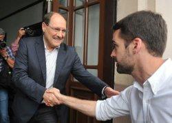 Sartori e Leite dão início à transição de governo nesta segunda-feira