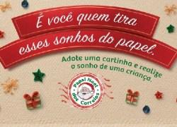 Campanha Papai Noel dos Correios: mais de 28 mil cartas já foram adotadas no RS