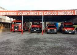 Bombeiros Voluntários de Carlos Barbosa realizam campanha de Natal