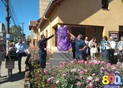 Inaugurado monumento na Casa do Artesão e do Artista Plástico de Bento