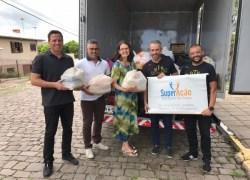 Secretaria de Bento efetua entrega de donativos na Ação Social São Roque