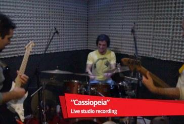 Desvio da teia – Cassiopeia – Live studio recording