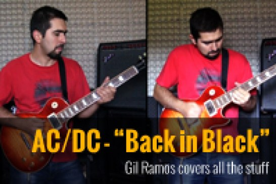 Gil Ramos – Back in Black – AC/DC cover all stuff