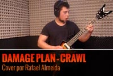 DAMAGE PLAN – CRAWL – Cover por Rafael Almeida