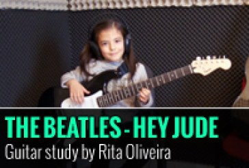 THE BEATLES – HEY JUDE – ESTUDO DE GUITARRA POR RITA OLIVEIRA