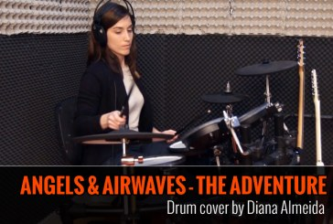 ANGELS AND AIRWAVES – THE ADVENTURE – COVER DE BATERIA POR DIANA ALMEIDA