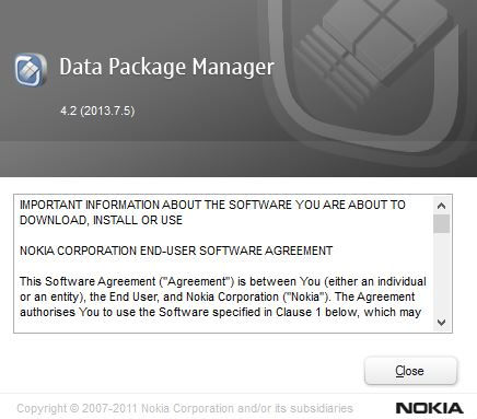 are preparing nokia data package manager how to use remission primary high-grade