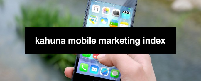 Kahuna Mobile Marketing Index Cover