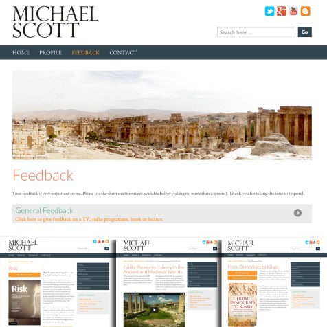 Cross Platform Web Design and Development, Michael Scott