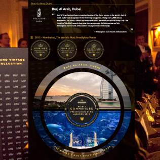 Digital PR and Press Coverage for Hotels and Venues, Prestigious Star Awards