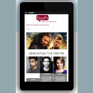 Optimisation for tablets, Cross-platform web design, BWH Agency