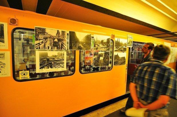 Fotos der alten U-Bahn Station Unter den Linden