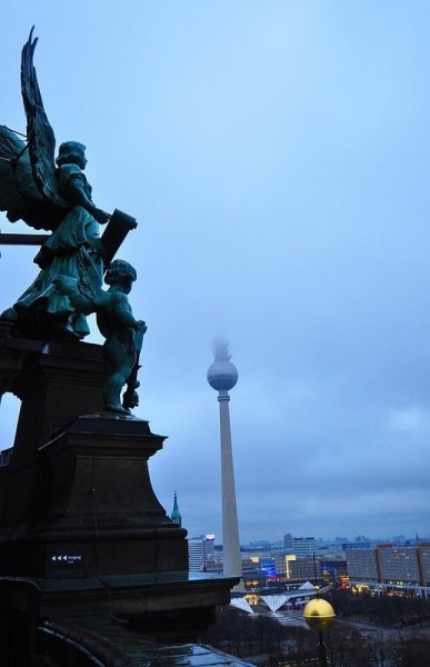 View of the TV Tower from the Berliner Dom