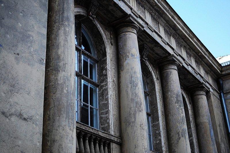 Tieranatomisches Theater old facade