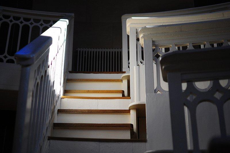 Tieranatomisches Theater stairs