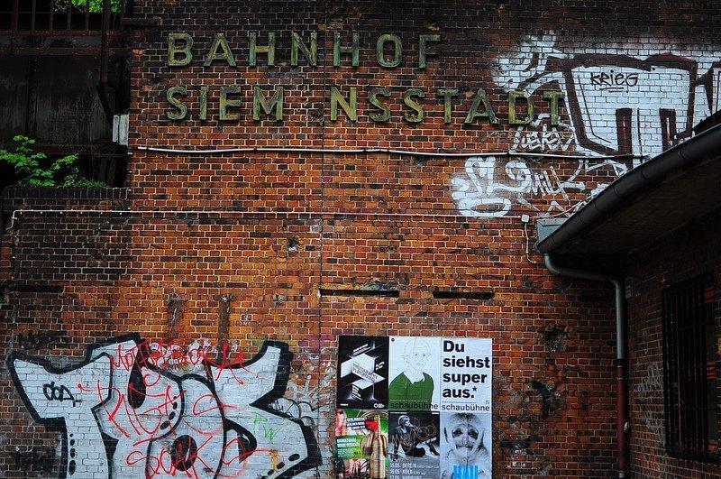 111 Places in Berlin - Nr 86: The S-Bahnhof Siemensstadt