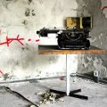 typewriter abandoned iraqi embassy berlin
