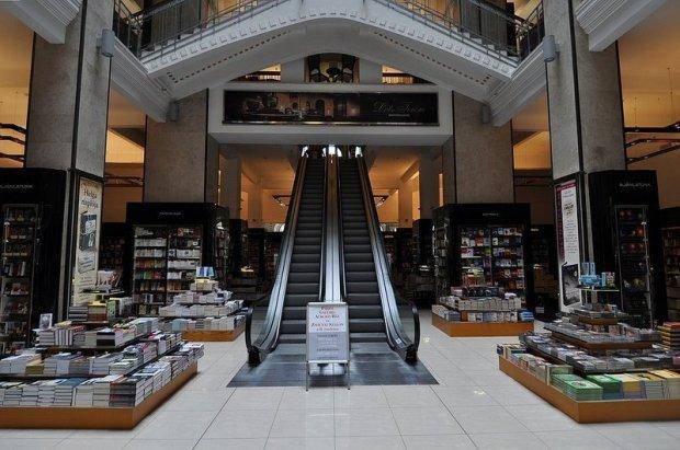escalators Parizsi Nagy aruhaz budapest