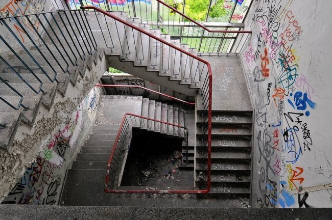 koepenick factory staircase