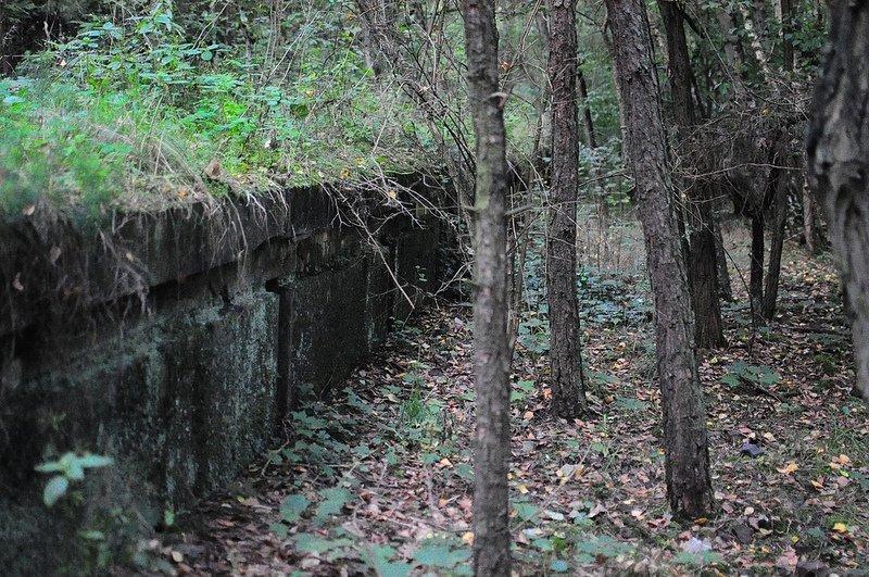 abandoned sbahnn platform dreilinden