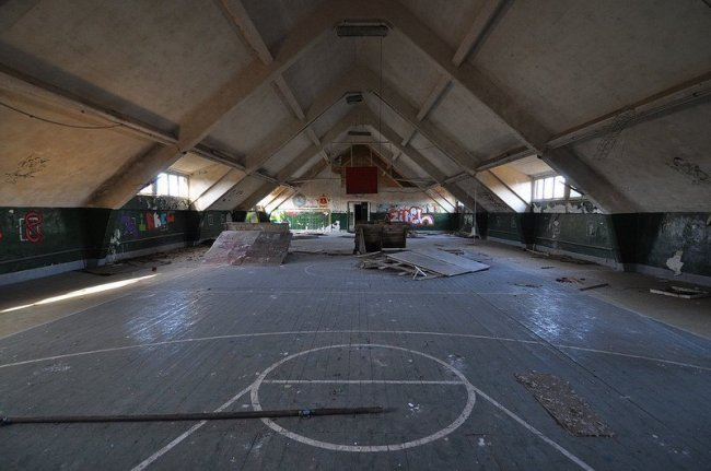 russian basketball court bernau