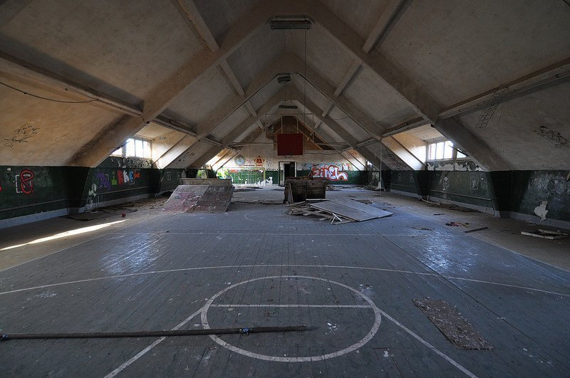 russian basketball court bernau