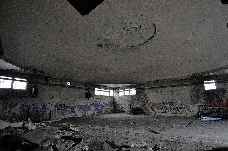 abandoned aircraft hangar berlin karlshorst