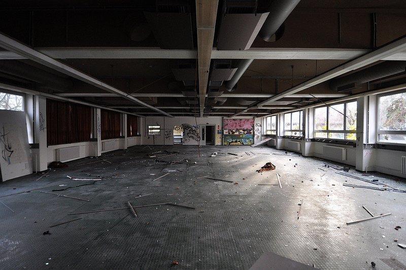 empty anatomy school berlin