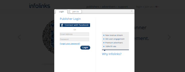 Infolinks review-Infolinks login