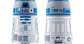 MimoPowerBots do Darth Vader e R2-D2 com bateria de 5200mAh
